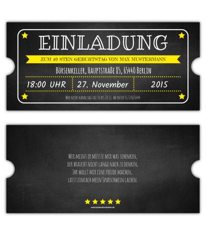 the 48 best images about einladungskarten geburtstag on pinterest, Einladungsentwurf