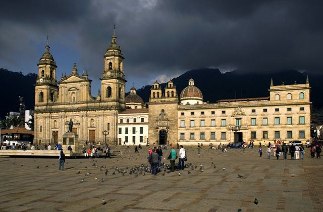 Bogota Colombia Photos: Bogota's Primary Cathedral and Holy Chapel