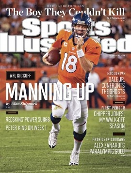 Your cover this week  Peyton Manning has Denver Broncos fans thinking Super  Bowl. 98e779619d9a7