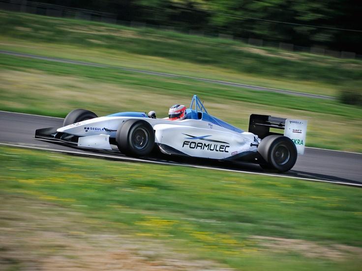 The First Electric Formula E Race Car.