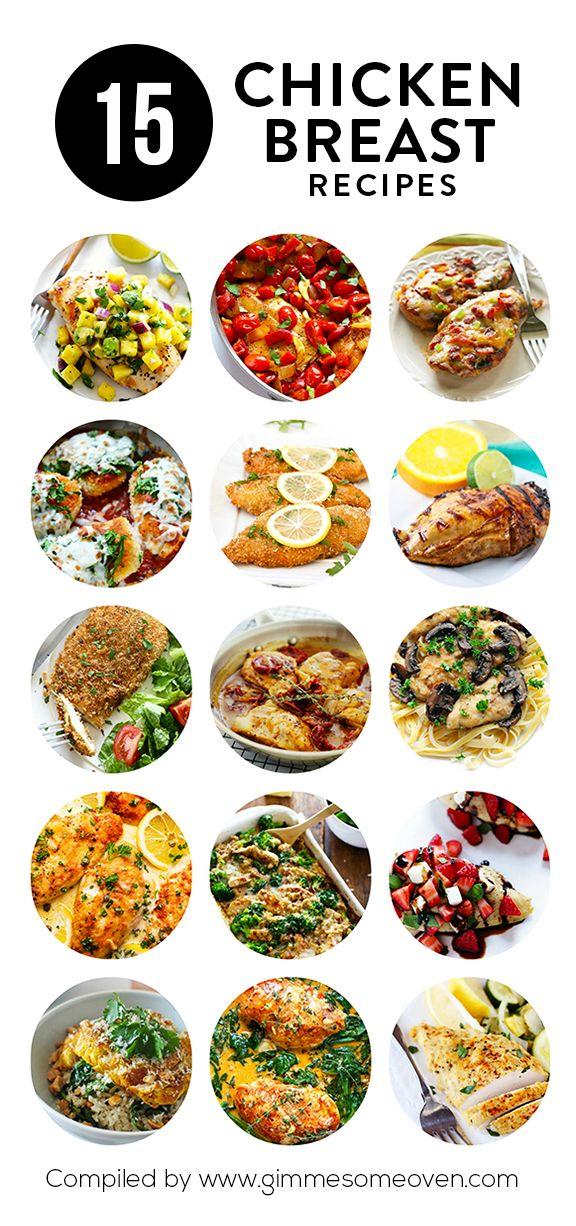 A delicious collection of easy chicken breast recipes from food bloggers. Plus tips on how to cook the perfect baked chicken breast!