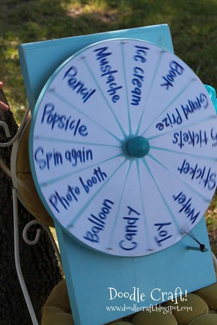 DIY Spinner Wheel, reusable, too!  Doodle Craft...: Super Spinner Wheel of Awesomeness!
