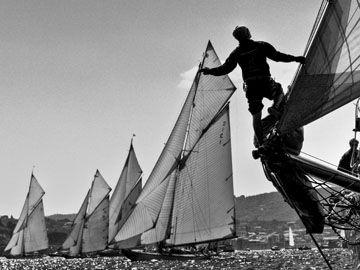 Les Voiles de Saint-Tropez 2008. A beautiful photo by Carlo Borlenghi on behalf of Rolex. Find out more about this classic sailing event here - http://www.boatinternational.com/yachting-events/les-voiles-de-saint-tropez/