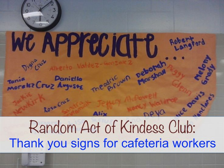 12 best images about Cafeteria Worker Appreciation on ...