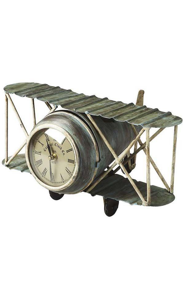 Wright Time Airplane Clock