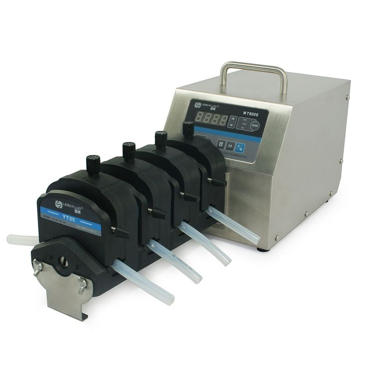 1400.00$  Buy now - http://alieut.worldwells.pw/go.php?t=32740671725 - WT600S 4XYT25 Big Flow rate Adjustable Peristaltic Pump Industrical Lab dosing Tubing Peristaltic Pump 50-2900ml/min 1400.00$