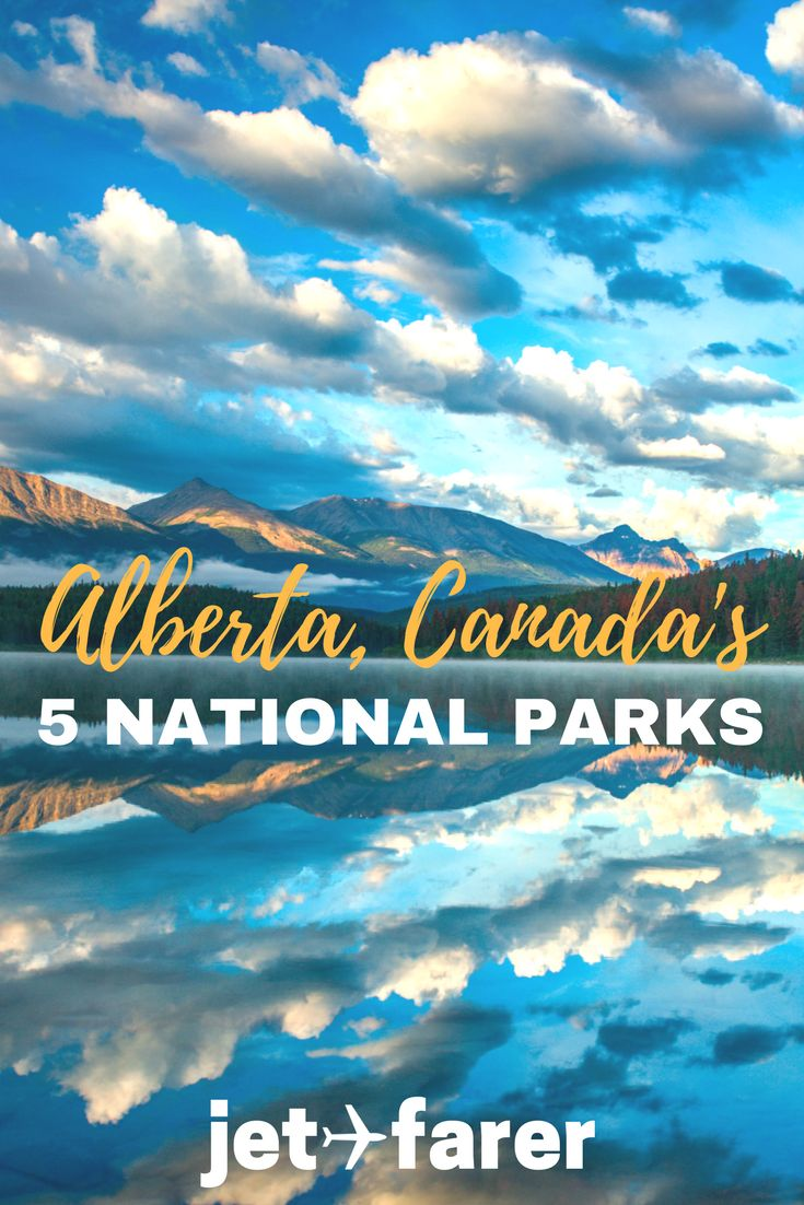 Alberta, Canada is home to some of the country's most beautiful national parks. Learn about each of the 5 parks in Alberta on this post.   Alberta Canada   Alberta national parks   Banff National Park   Canadian Rockies   national parks   Canadian national parks   beautiful places in Canada  