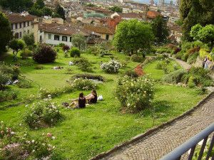 Italiano per stranieri: una comprensione su tre giardini di Firenze