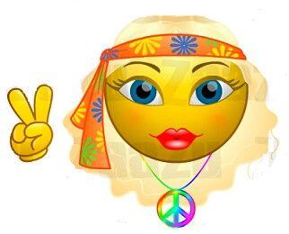 Hippie Smiley Face