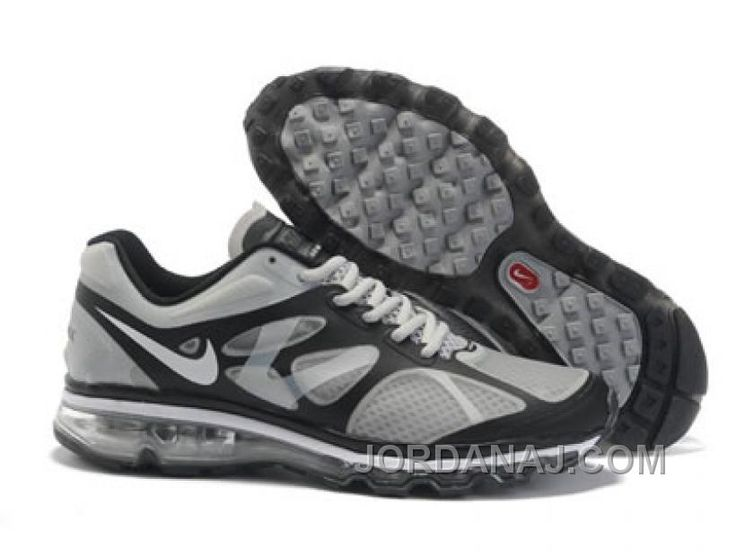 Latest Listing Cheap Mens Nike Air Max 2012 Grey Black Shoes The Most  Lightweight Shoes