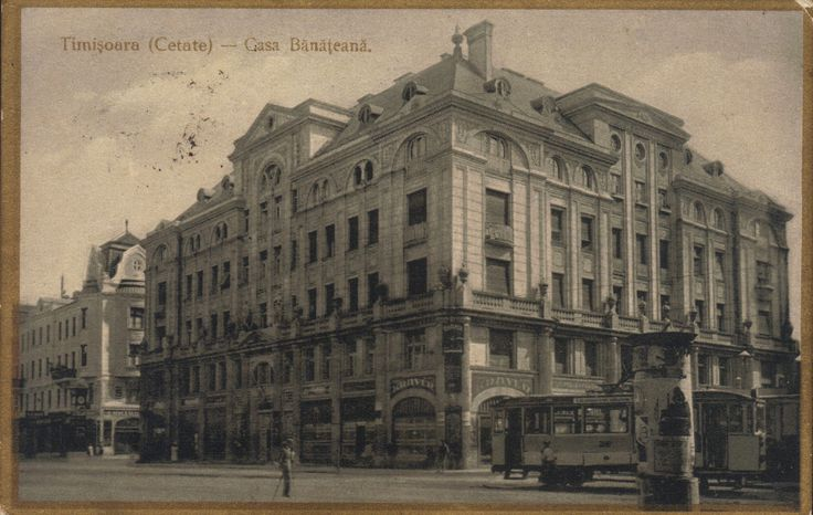 Timisoara - Casa Banateana. Piata Sf Gheorghe 1927