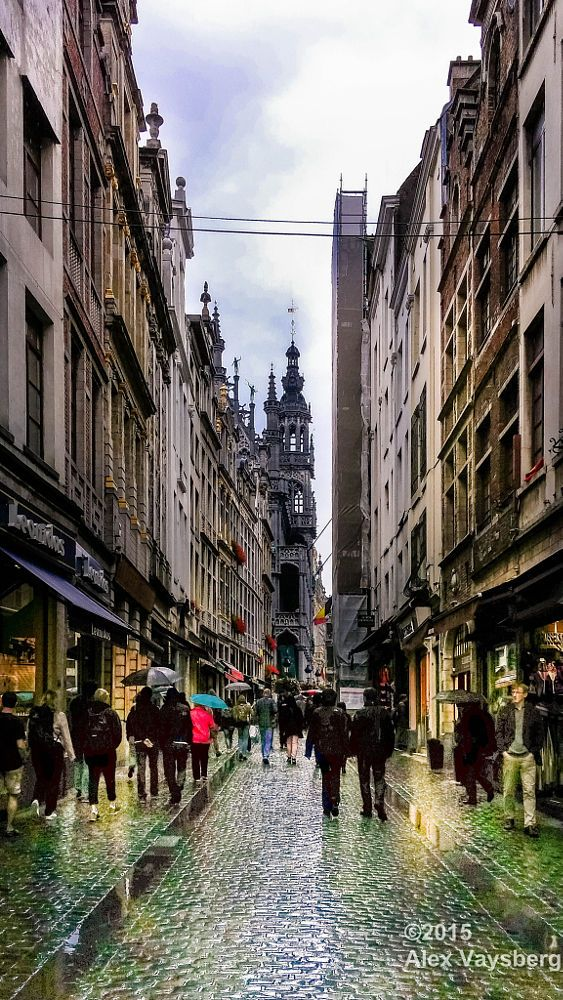 9 best travel brussels images on pinterest brussels belgium rainy day in brussels at grand place by aleksandr vaysberg publicscrutiny Image collections