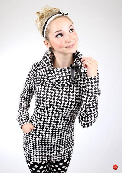 Meko CARYNA Hahnentritt hoodie