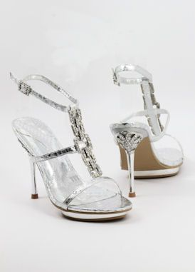 Bridesmaid shoes for wedding http://www.shopzoey.com/Silver-Shoes-with-4-heels-and-.75-platform-Style-500-25.html