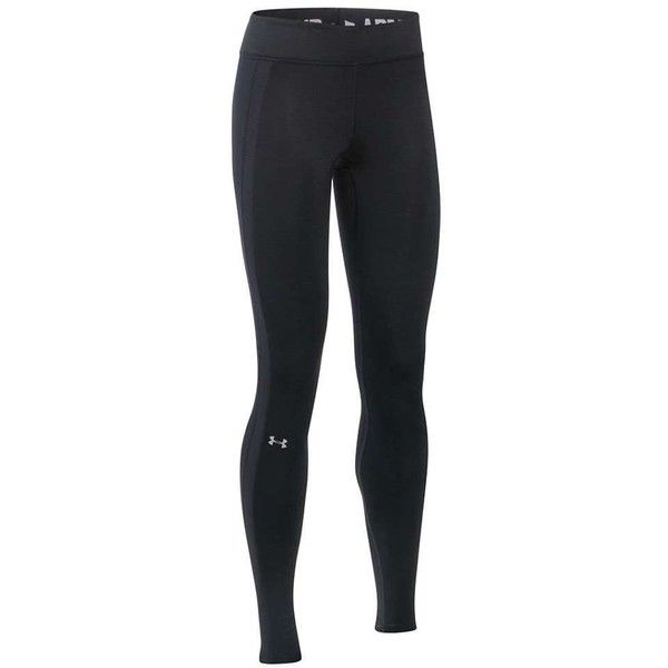 Under Armour Women's UA ColdGear Armour Legging ($60) ❤ liked on Polyvore featuring activewear, activewear pants, under armour sportswear and under armour