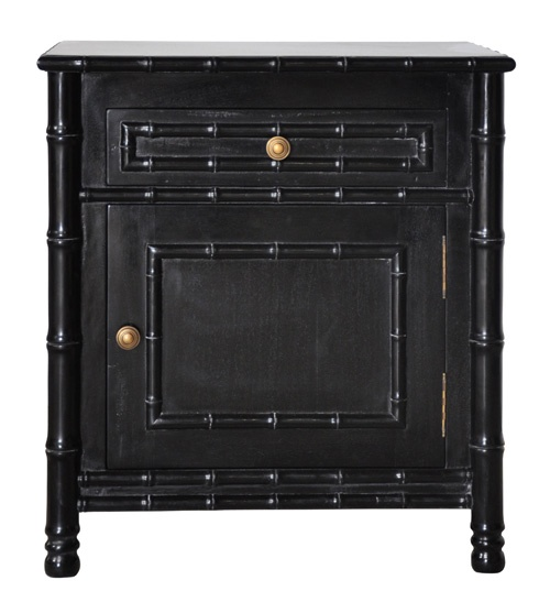 Black bedside table nightstands pinterest bedrooms for French nightstand bedside table