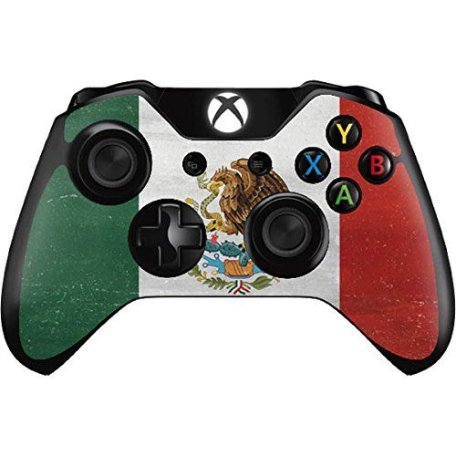 Countries of the World Xbox One Controller Skin  Mexico Flag Distressed Vinyl Decal Skin For Your Xbox One Controller *** Details can be found by clicking on the image.Note:It is affiliate link to Amazon.