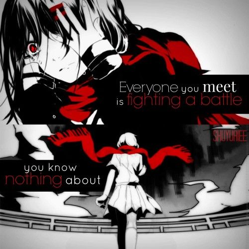 Anime Emo Quotes About Suicide: 888 Best All About Anime Quotes Images On Pinterest