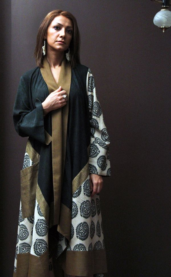 ALANGOO-Persian Style hand-tailored wrapper jacket I2