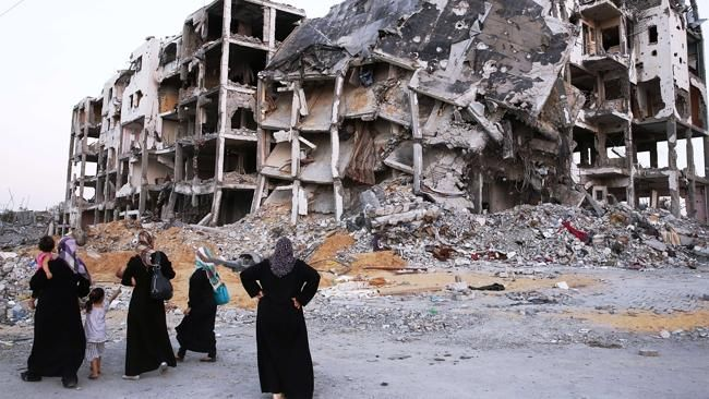 IT will take 20 years for Gaza's battered homes to be rebuilt following the war between Hamas and Israel, according to an NGO..