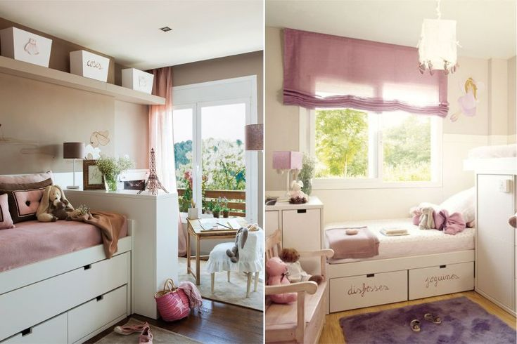 Розовая детская комната - 60 фото и 5 дизайн-подсказок
