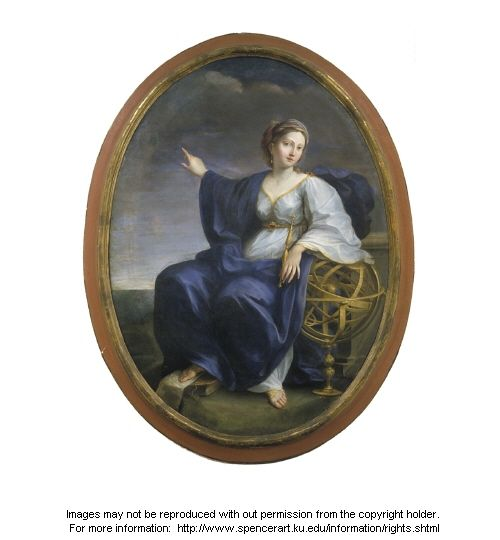 Marc Antonio Franceschini, The Muse of Astronomy, late 1600s-early 1700s