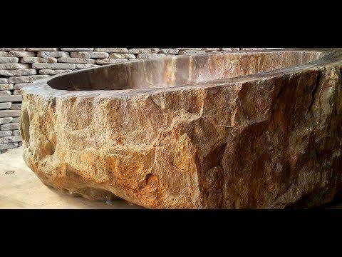 Petrified Wood Bathtubs