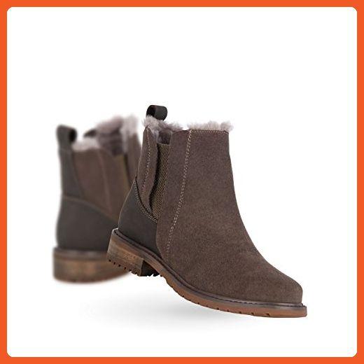 EMU Australia Pioneer Womens Deluxe Wool Waterproof Boots in Charcoal Size  8 - Boots for women