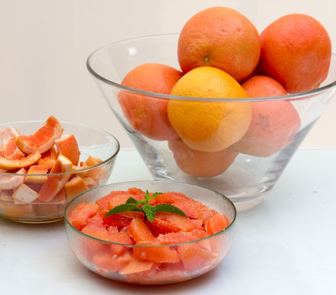 How to section a grapefruit - the easy way. Fun video plus step by step instructions with photos.