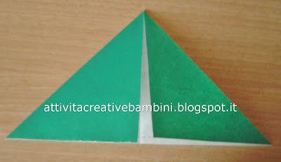 Attività Creative Per Bambini: Origami Rana salterina