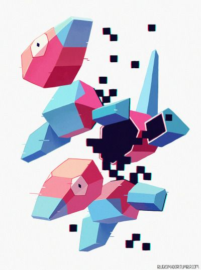 I love frogs, Porygon
