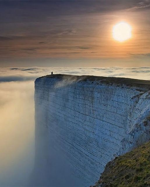 Edge of the World - White Cliffs of Dover | See more Amazing Snapz