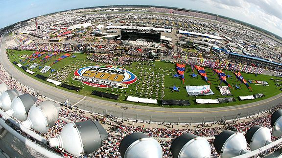 If you only go to one Nascar Race in your life.  The Daytona 500 is the race you have to experience!!