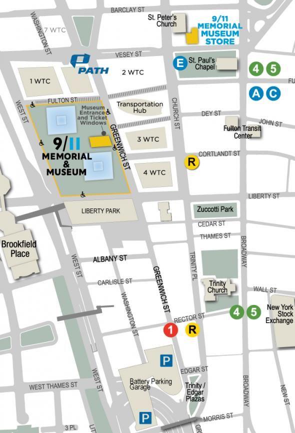 Getting Here | National September 11 Memorial & Museum