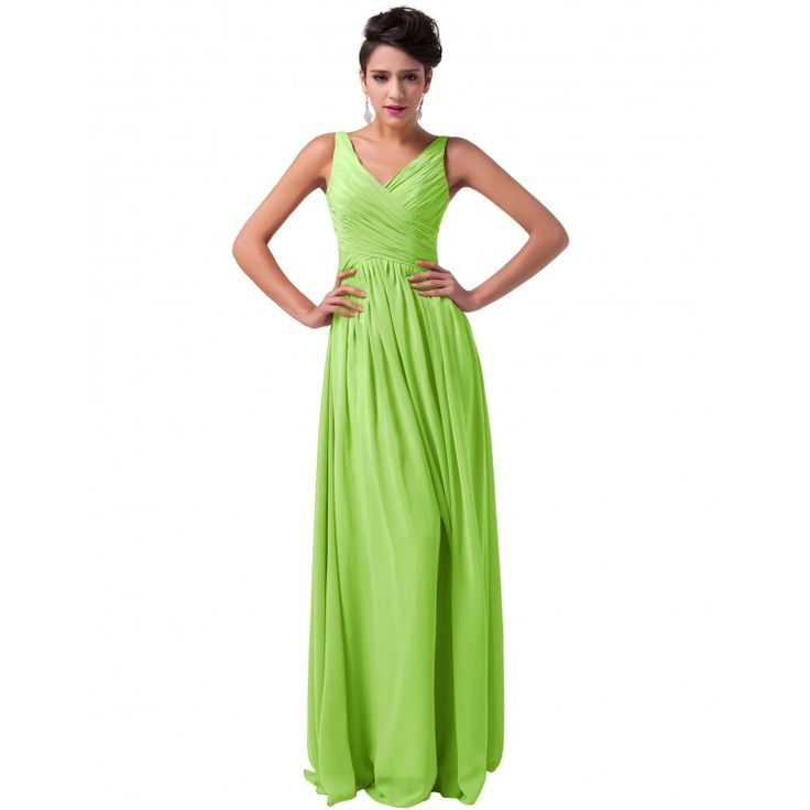 Zelené spoločenské šaty CL6010-4