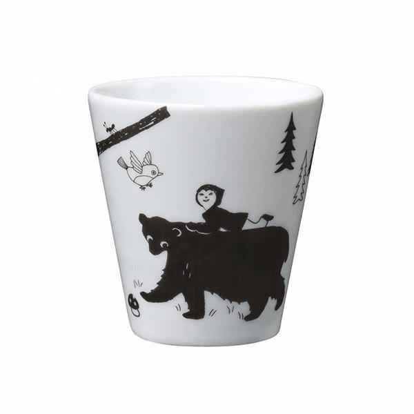 """Porslinsmugg """"Coffe tea me?"""" svart sagoskog - från House of Rym"""