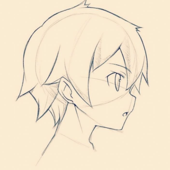 21 Anime Face Male Art Anime Face Shapes Anime Male Face Anime Sketch