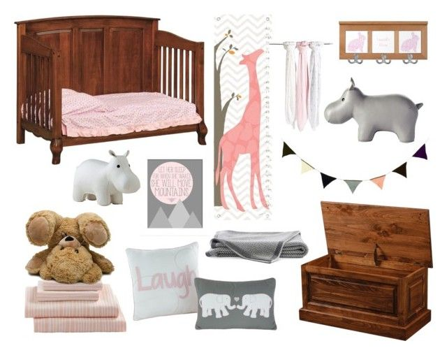 Gray & Pink Toddler's Room by Countryside Amish Furniture