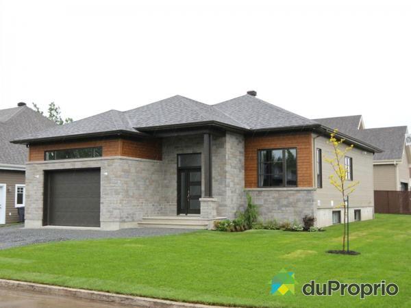 Plan no. 3282 : bungalow très économique de style moderne et contemporain
