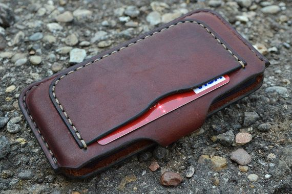 Case for iPhone 6  Handmade Leather iPhone 6 Pouch /  Pouch