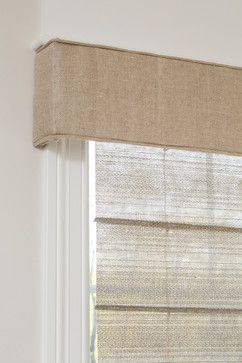 Burlap valence: simply stated