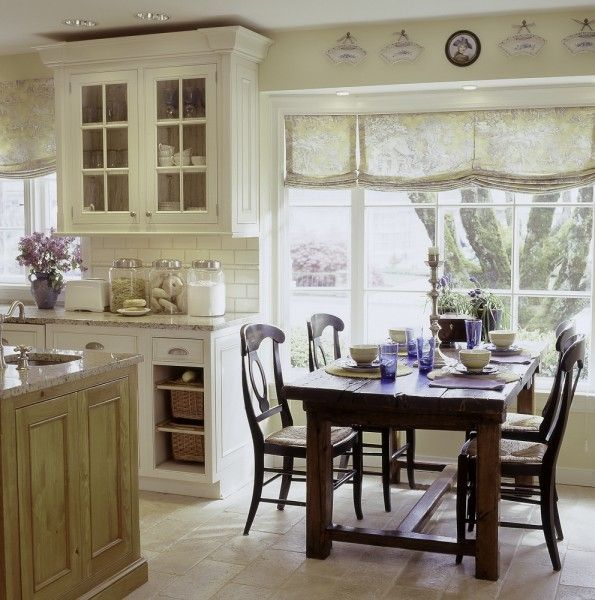 Wonderful French Country Kitchen Curtains