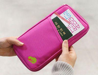 Rose Fashion Multifunctional Purse Handbag Wallet Card Holder Travel Passport | Clothing, Shoes & Accessories, Unisex Clothing, Shoes & Accs, Unisex Accessories | eBay!