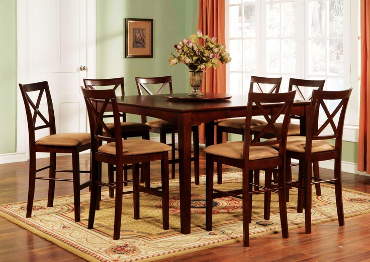 1300 9 Piece Counter Height Stool And Chair Set By World Imports