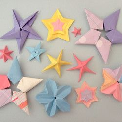 Free Crafts Stars | origami stars free crafts handmade gift ideas diy projects free ...