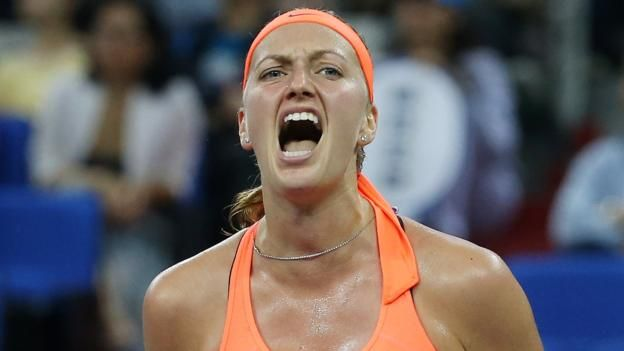 #tennis #news  Kvitova claims WTA Elite Trophy title