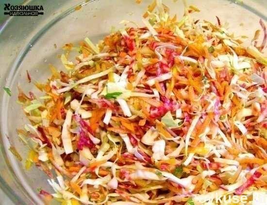 Лучшие рецепты салатов для похудения😃