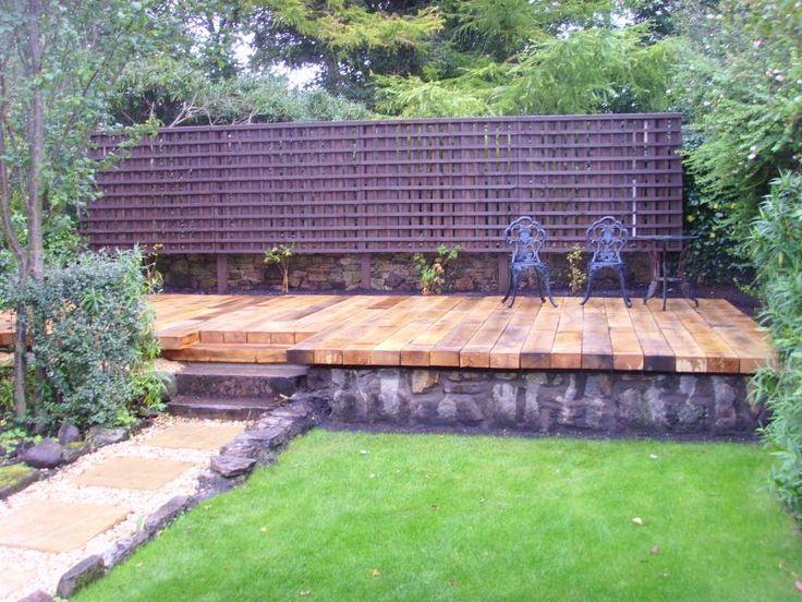 Garden Ideas Railway Sleepers 32 best railway sleepers in garden ideas! images on pinterest