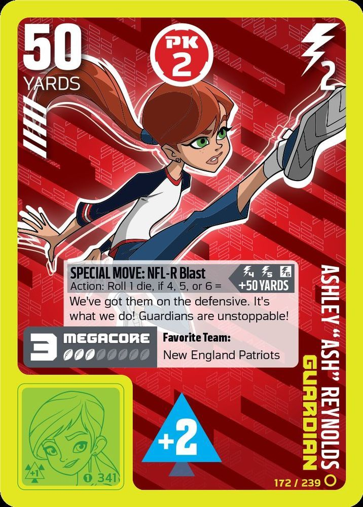17 Best images about NFL RUSH ZONE TCG Guardians on Pinterest  Football, Created by and New