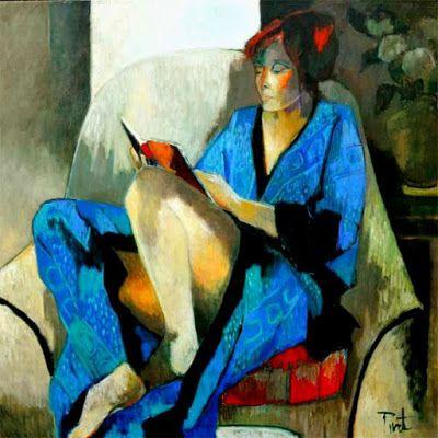 E Weinstein Oil Painting Art
